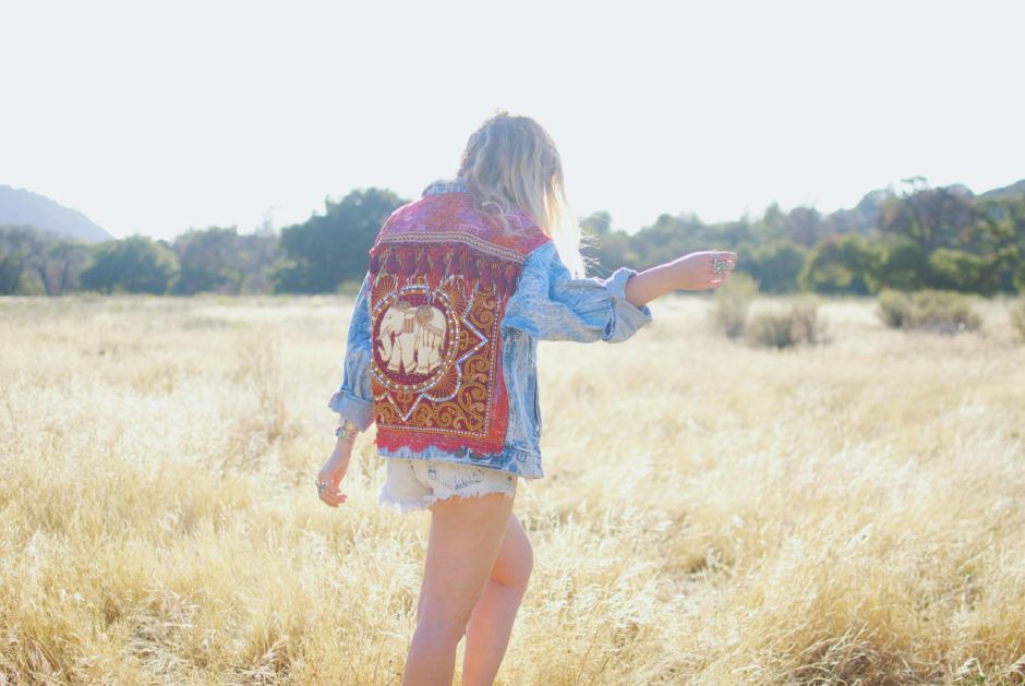 wild and free, wild and free jewelry, embellished elephant jacket, corina brown, wild and free blog