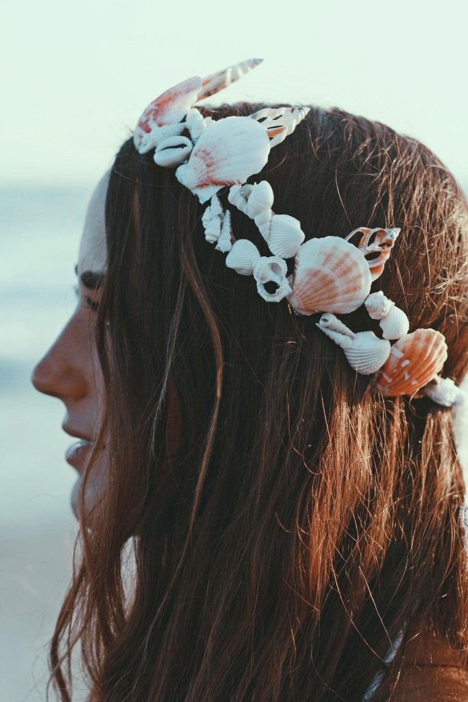 mermaid crown, wild and free jewelry, wild and free