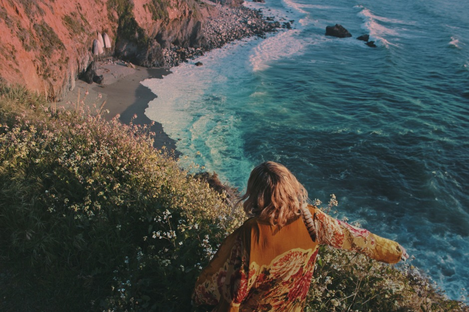 big sur, wild and free, wild and free blog, wildandfreejewelry, girl on a vine, fpme
