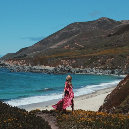 Mahiya for the Wild & Free Blog in Big Sur