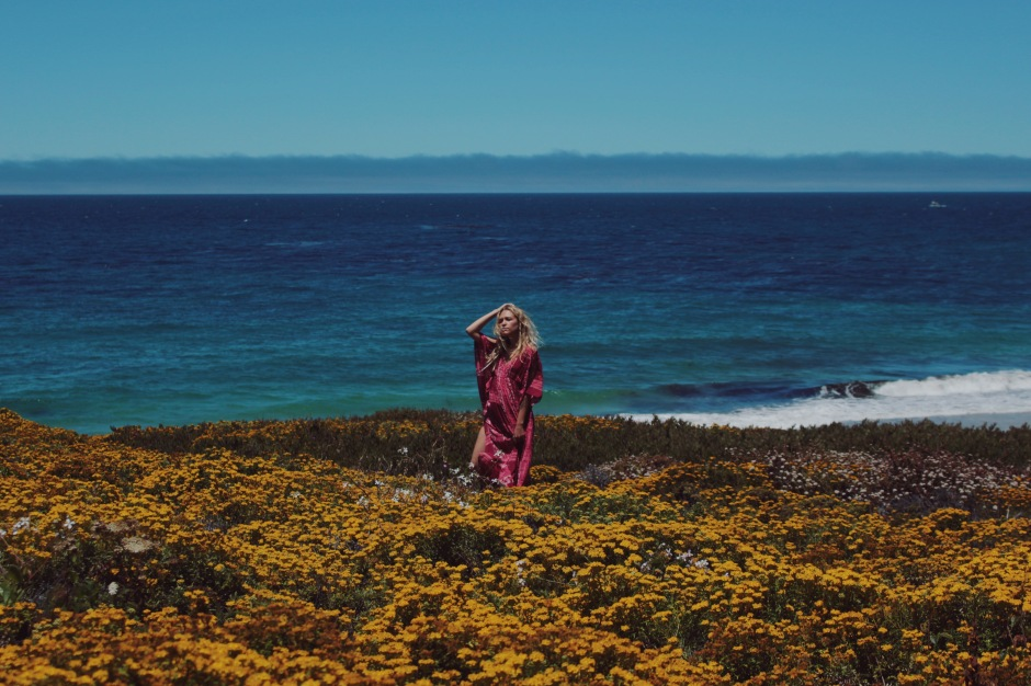 Mahiya for the Wild & Free Blog in Big Sur