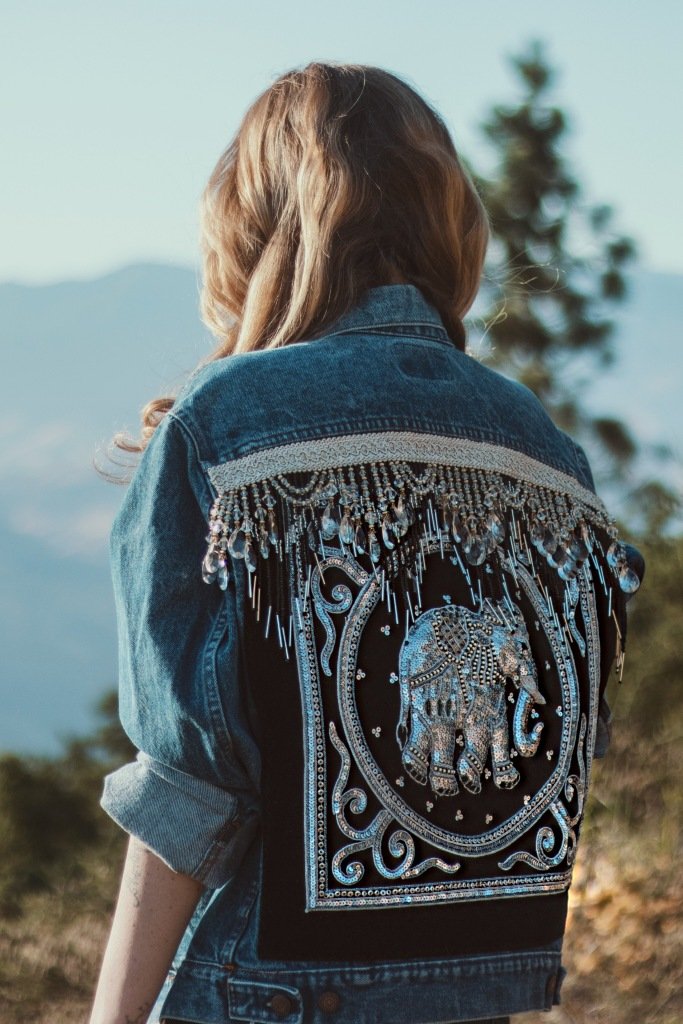 Embellished Denim by Wild & Free Jewelry