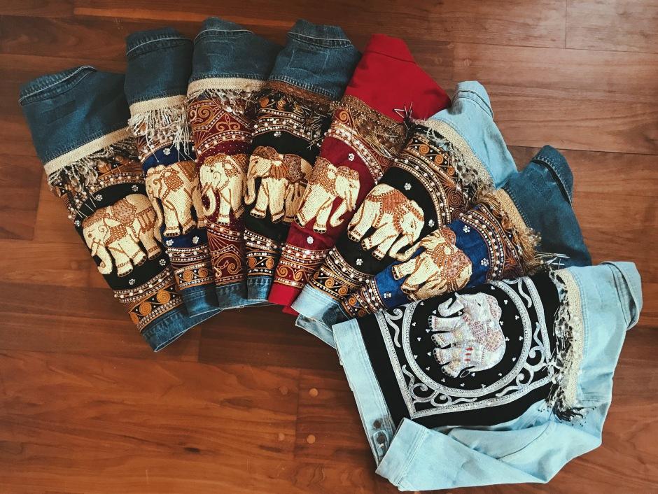 Wild & Free Embellished Elephant Jackets