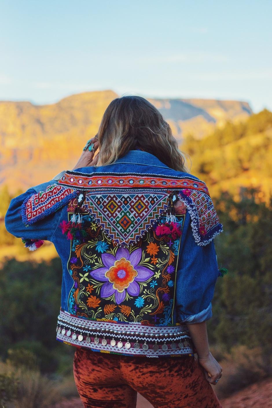 wildandfreejewelry, embellished denim, boho boho blogger